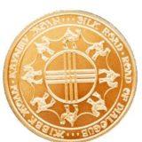 Шелковый путь, Казахстан, 10000 тенге — золотая монета