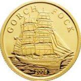 Корабль «Горх Фок» — Острова Кука — золотая монета