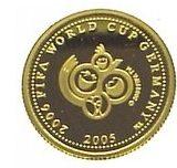 Чемпионат мира по футболу 2006 года — Самоа — золотая монета