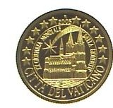 Цитадель Ватикана (Петерсдом) — Марианские острова — золотая монета