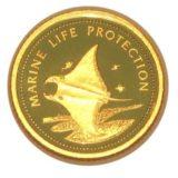 Скат (рыба) — Палау — золотая монета