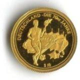 Факелоносец (Олимпийские Игры) — Науру — золотая монета