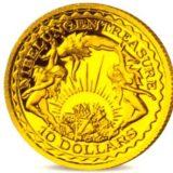 Сокровища Нибелунги — Науру — золотая монета