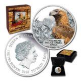 Тасманийский орел — Тувалу — 2012 — серебряная монета