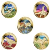 Открываем Австралию 2012 — Австралия — набор из 5 бронзовых монет