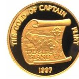 Золото капитана Флинта — Самоа — золотая монета