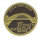Сиднейский мост — Австралия — золотая монета