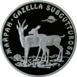 Джейран, Казахстан, 500 тенге — серебряная монета