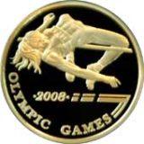 Прыгунья в высоту, Казахстан, 500 тенге — золотая монета