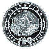 Кочевье, Казахстан, 100 тенге — серебряная монета