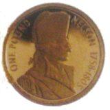 Нельсон — Олдерни — памятная золотая монета