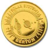 Солнечная система — Бутан — золотая монета