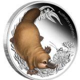 Детеныши животных Австралии: Австралийский платипус — Австралия — 2013 — серебряная монета