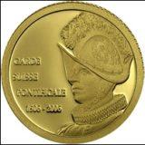 Швейцарская гвардия: 500-летний юбилей — Конго — золотая монета