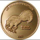 Сохраним наш мир — Скунс — Конго — золотая монета