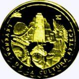 Культура Ацтеков — Куба — золотая монета