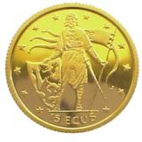 Генрих Лев — Гибралтар — золотая монета
