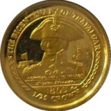 Лорд Нельсон: Трафангальская битва — Остров Мэн — золотая монета