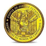Семь чудес света: Статуя Зевса — Кот д'Ивуар — золотая монета