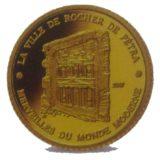 Семь новых чудес света: Петра — Кот д'Ивуар — золотая монета