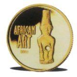 Африканское искусство — Конго — золотая монета