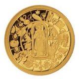 Апостолы (апостол Павел) — Либерия — золотая монета