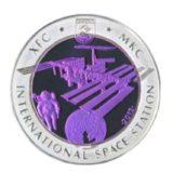 МКС (Международная космическая станция), Казахстан, 500 тенге — серебряная монета
