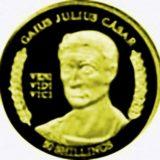 Гай Юлий Цезарь — Сомали — золотая монета