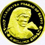Клеопатра — Сомали — золотая монета