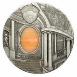 Искусство Тиффани (Tiffany Art) 2008 Маннеризм — Палау — серебряная монета с Тиффани