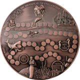 Остров сокровищ — 2015 — Палау — очень БОЛЬШАЯ монета-игра