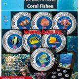 Коралловые рыбки — 1 — Острова Кука — 2000 (2014) — набор из 7 монет