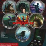 Мифические создания — Острова Кука — 2000 (2014) — набор из 7 монет