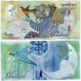 Bluebird (звезда) — Казахстан — 2013 — тестовая банкнота