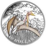 Эпоха динозавров: кетцалькоатль — Канада — 2016 — серебряная монета